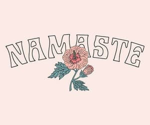 wallpaper, background, and namaste image