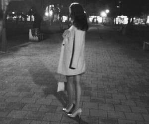 black&white, elegant, and fashion image