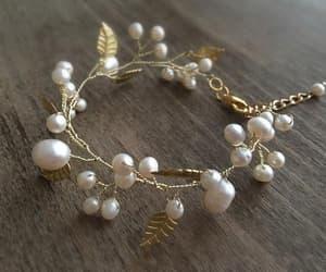 bridal jewelry, bridal gift, and wedding bracelet image