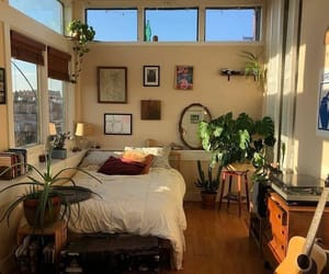 aesthetic, plants, and bedroom image