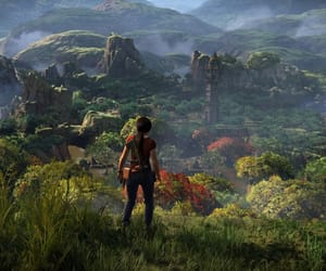 video game and uncharted lost legacy image