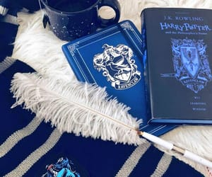 black, blue, and ravenclaw image