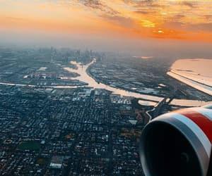 avion, sky, and Sydney image
