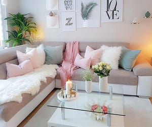 home, candle, and living room image