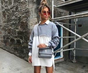 fashion, vogue, and grey image