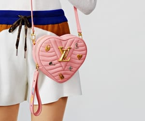 Louis Vuitton, moda, and pink image