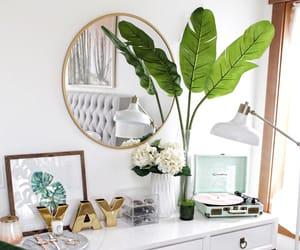 bedroom, indoor, and plants image