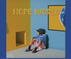 bts, j-hope, and hope world image