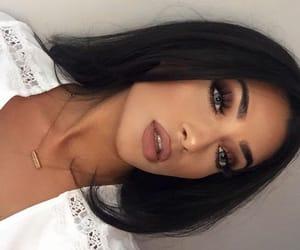 girl, makeup, and beautiful image