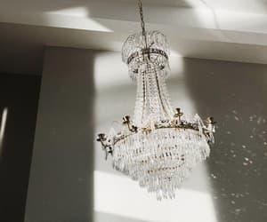 chandelier, diamonds, and girly image