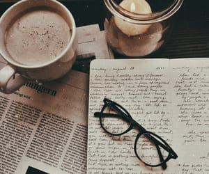 coffee, glasses, and brown image