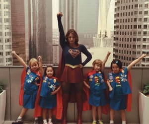 kids and Supergirl image