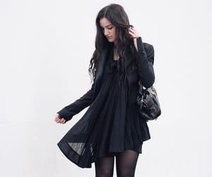 beautiful, goth, and witch vibes image