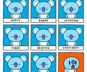 koya, bt21, and bts image