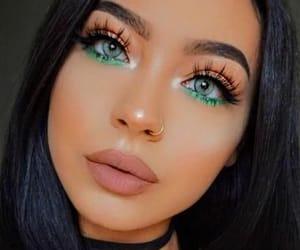 makeup, girl, and style image