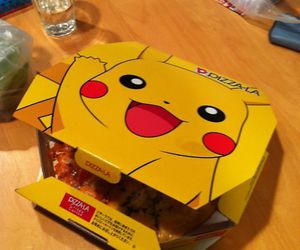 pikachu and pizza image