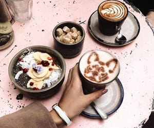 cappuccino, delicious, and healthy image