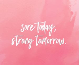 quotes, fitness, and strong image