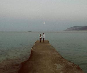 couple, sea, and summer image
