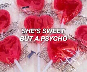 candy hearts, crazy girl, and hearts image