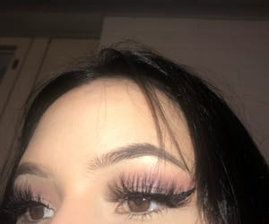 eyebrow, highlight, and lashes image