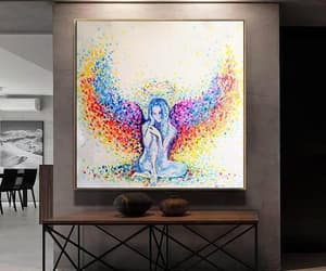 etsy, painting on canvas, and large art image