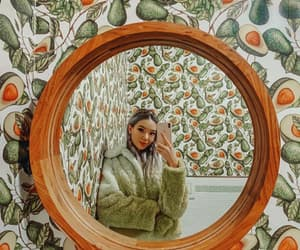 avocado, mirror selfie, and outfit image