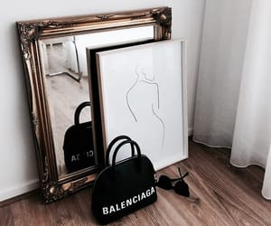Balenciaga, interior, and purse image