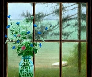 beautyfull, dreamy, and rain image