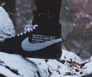 hypebeast, nike, and off-white image