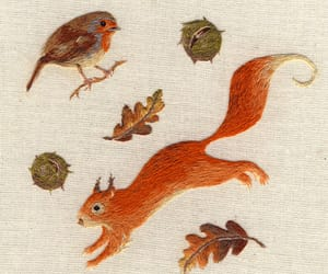 crafts and squirrel image