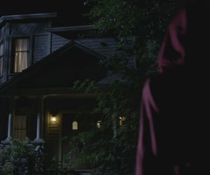 aesthetic, house, and red coat image