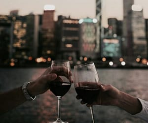 wine and city image