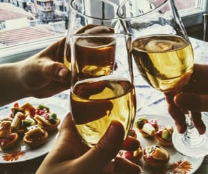 champagne, WITH, and cheers image