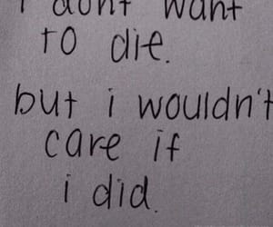 sad, die, and quotes image