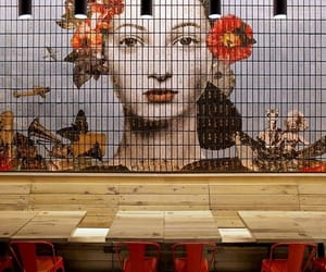 cool, tiles, and design image