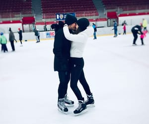 date, love, and iceskating image