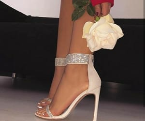roses, shoes, and fancy image