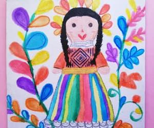 colores, méxico, and dibujo image