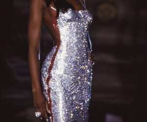 fashion, model, and Naomi Campbell image