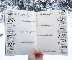 calendar, draw, and fashion image