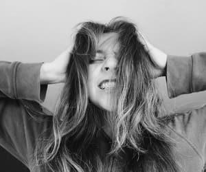 black & white, crazy, and vintage image