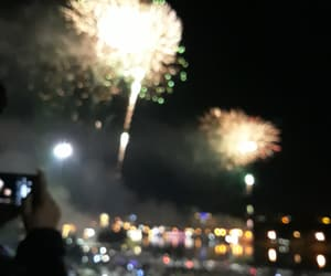 asia, firework, and night image