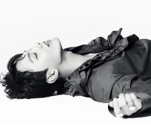 actor, yeo jin goo, and black and white image
