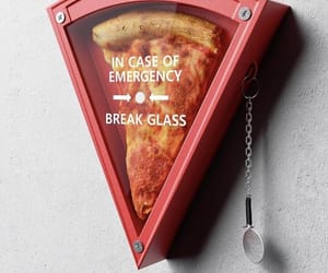 pizza, emergency, and food image
