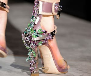 catwalk, fashion, and high fashion image