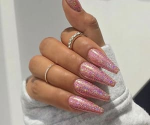 girls, style, and glitter image