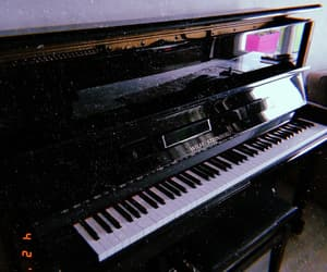 music, musique, and piano image