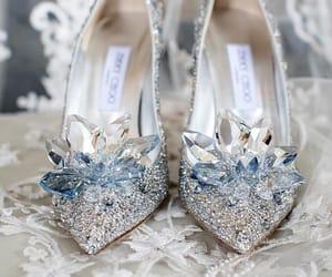 wedding, heels, and shoes image