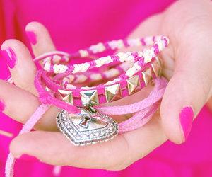 best friends, fashion, and bracelets image
